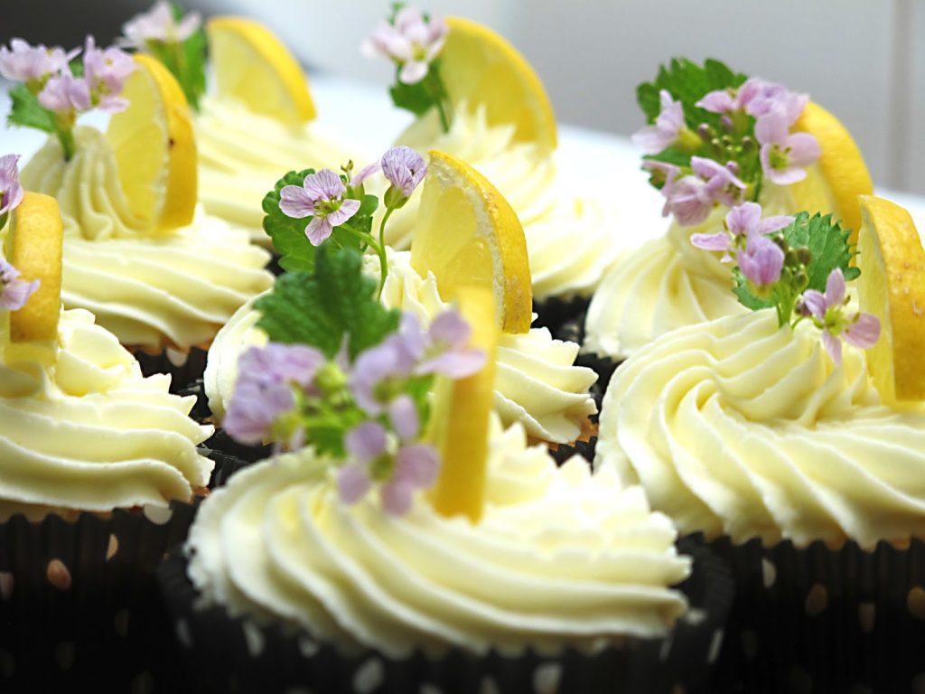 citrónové dortíky plněné