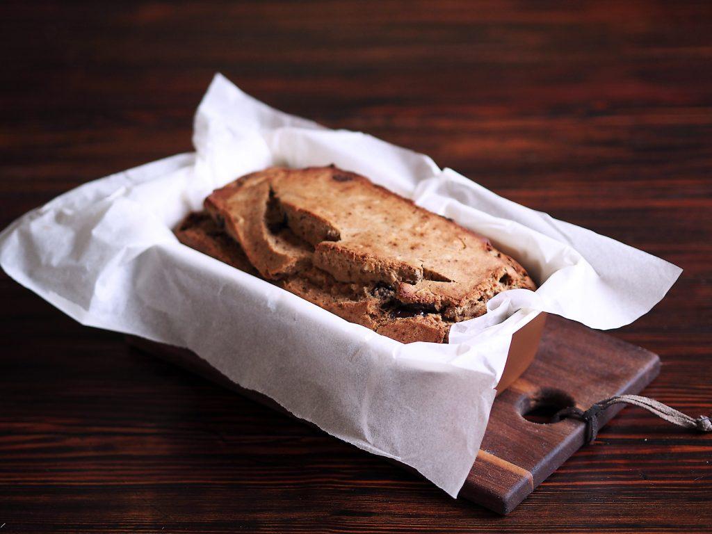 banana bread bez cukru