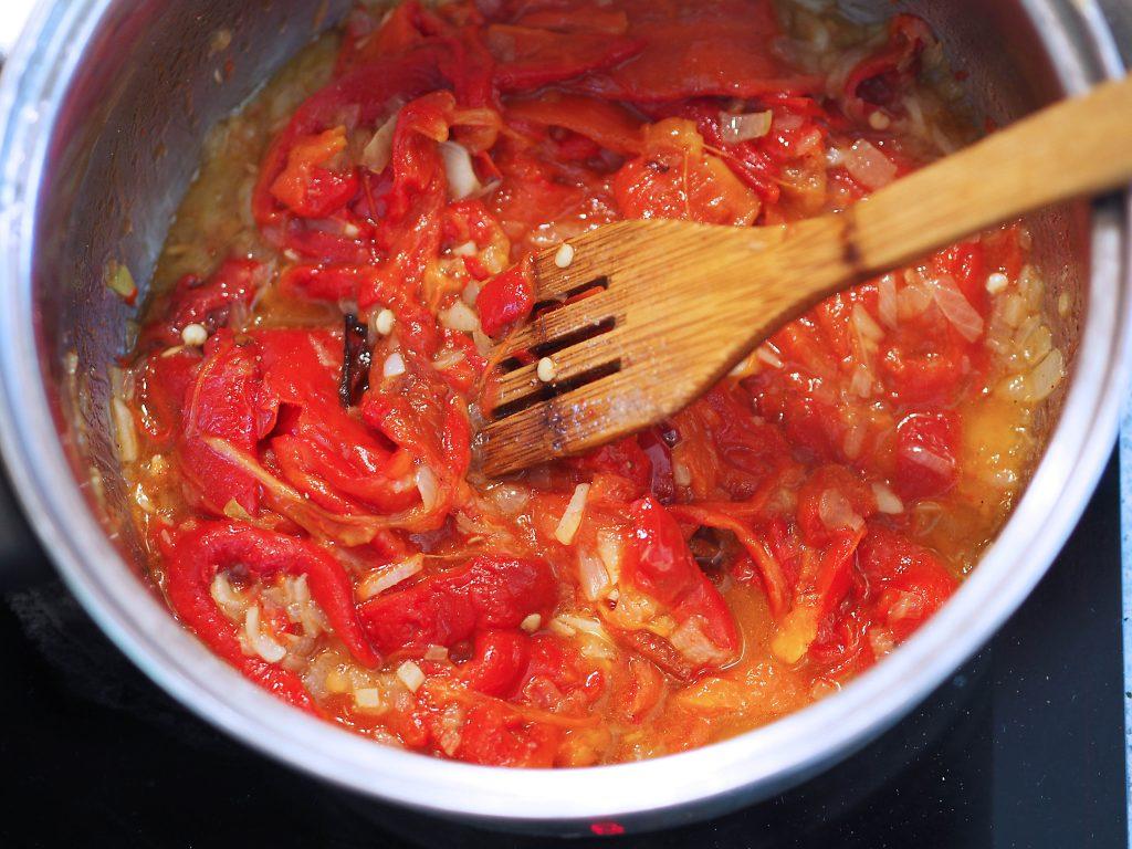 polévka z paprik recept
