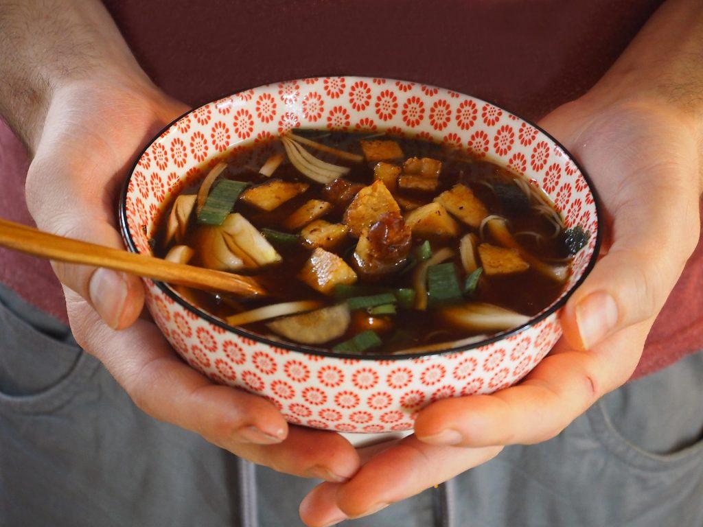 japonská miso polévka recept